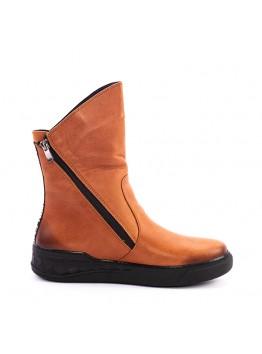Ботинки женские AmyMichelle AMAM604_112-4/Z зима нубук рыжий