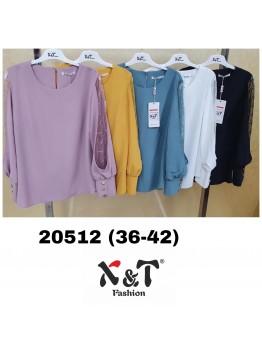 Блузки женские X&T Fashion 20512 (36-42)