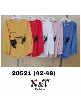 Блузки женские X&T Fashion 20521 (42-48)